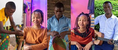 Five talented young entrepreneurs who dreamed beyond poverty