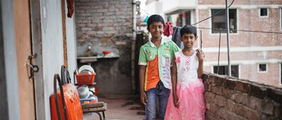 Sponsor gives timely gift to family of four in Bangladesh