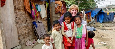 Tearfund advocate raises $15k for project in India and meets sponsored child