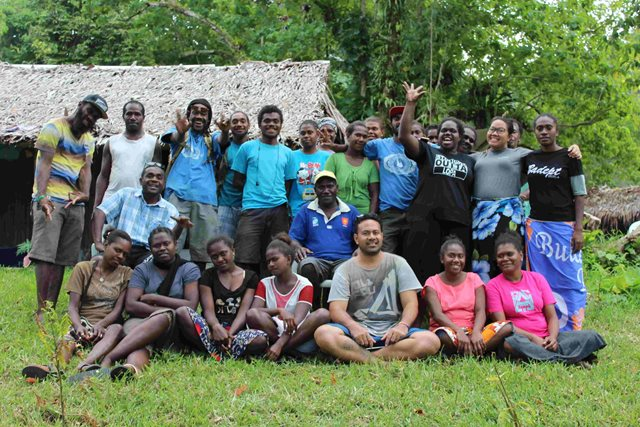 A group photo of Ola Fou participants, young leaders in tough places, in Vanuatu