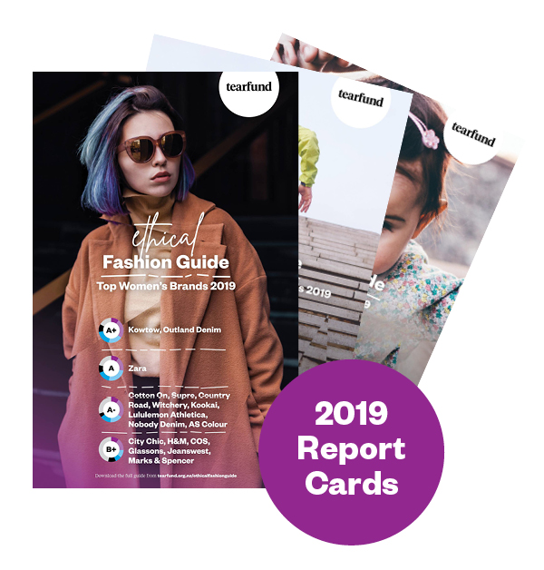 Ethical Fashion Guide 2019 Report Cards